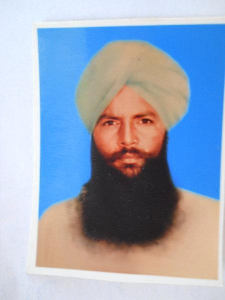 Photo of Bageecha Singh, victim of extrajudicial execution between June 1, 1991 and June 30,  1991Punjab Police