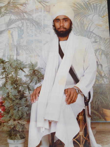 Photo of Harjit Singh,  disappeared on November 19, 1991, in Dehlon,  by Punjab Police