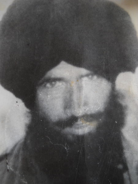 Photo of Balwant Singh, victim of extrajudicial execution between September 1, 1990 and December 31,  1990, in Valtoha, by Punjab Police