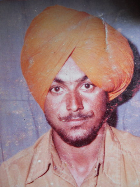 Photo of Sarabdidar Singh, victim of extrajudicial execution between January 1, 1990 and December 31,  1990, in Ludhiana,  by Unknown type of security forces, in Ghall Khurd, by Punjab Police