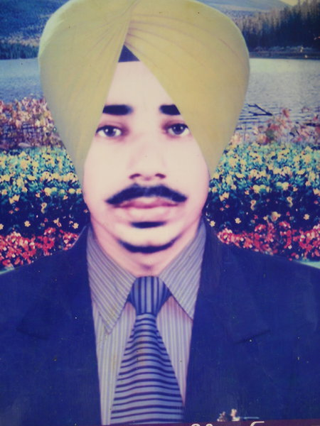Photo of Lakhwinder Singh, victim of extrajudicial execution on April 18, 1990, in Nabha, by Punjab Police