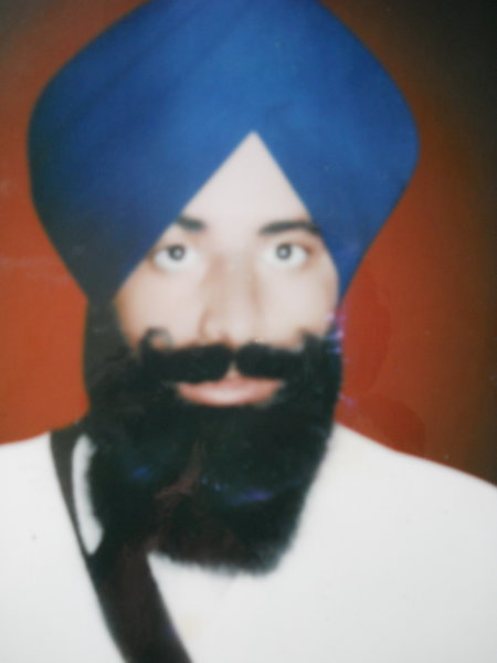 Photo of Major Singh, victim of extrajudicial execution on February 03, 1993, in Faridkot, by Punjab Police