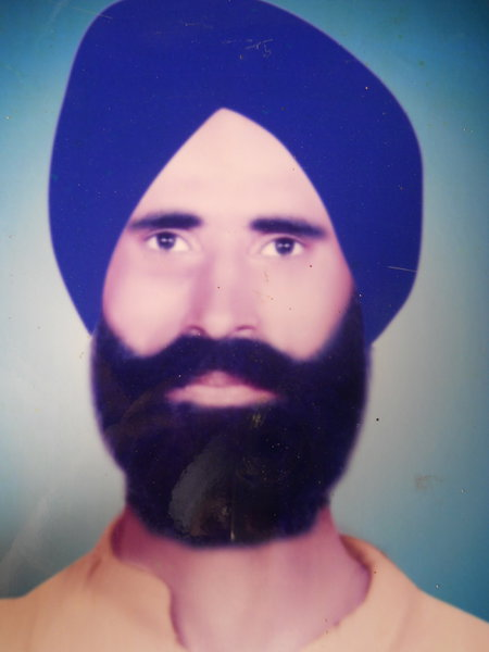Photo of Dara Singh, victim of extrajudicial execution on February 25, 1988, in Patti,  by Central Reserve Police Force, in Patti, by Central Reserve Police Force