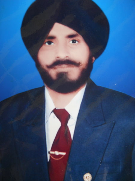 Photo of Jagjit Singh, victim of extrajudicial execution on March 3, 1991, in Valtoha, by Punjab Police