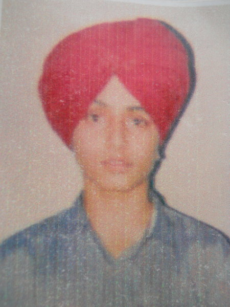 Photo of Saraj Singh, victim of extrajudicial execution on May 01, 1991, in Patti,  by Punjab Police; Central Reserve Police Force, in Patti, by Punjab Police; Central Reserve Police Force