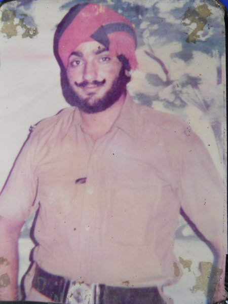 Photo of Paramjit Singh, victim of extrajudicial execution on June 14, 1993Punjab Police