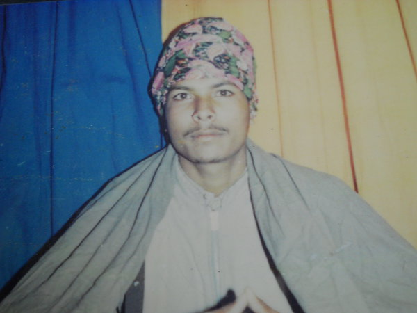 Photo of Dilbagh Singh, victim of extrajudicial execution on April 7, 1992, in Patti, by Punjab Police