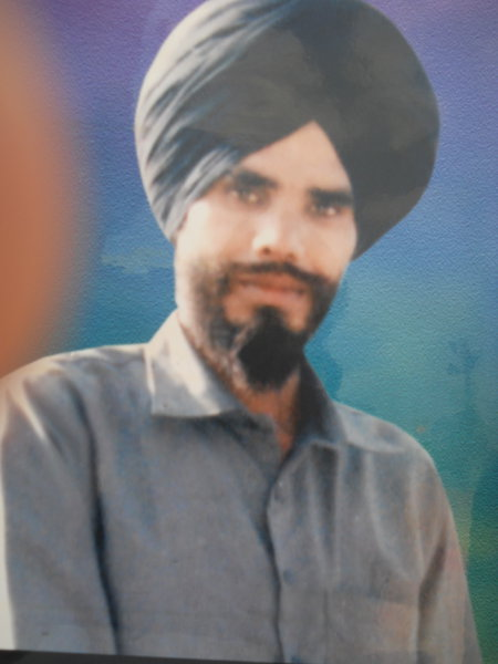 Photo of Sukhraj Singh,  disappeared on September 1, 1991, in Patti,  by Punjab Police