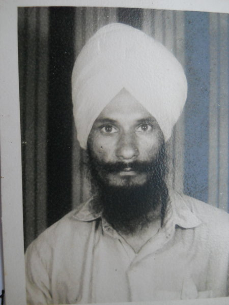 Photo of Balbir Singh, victim of extrajudicial execution on August 28, 1992, in Patti, by Punjab Police