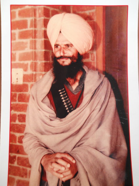 Photo of Anokh Singh, victim of extrajudicial execution on December 27, 1992, in Goindwal, Tarn Taran,  by Punjab Police; Central Reserve Police Force, in Tarn Taran, by Punjab Police