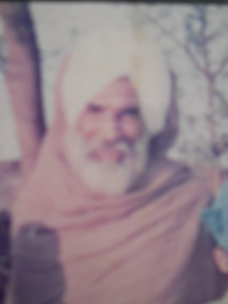 Photo of Malinder Singh, victim of extrajudicial execution between November 24, 1991 and December 20,  1991, in Patti, by Punjab Police