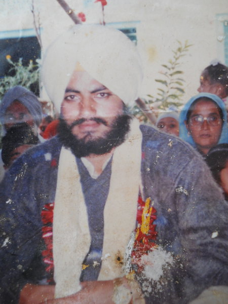 Photo of Jatinder Singh,  disappeared on August 13, 1992, in Tarn Taran,  by Punjab Police; Central Reserve Police Force
