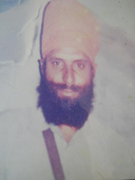 Photo of Sukhdev Singh, victim of extrajudicial execution on June 27, 1992, in Chheharta Sahib, by Punjab Police