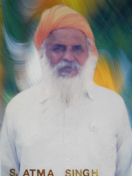 Photo of Atma Singh, victim of extrajudicial execution between October 10, 1992 and October 24,  1992, in Tarn Taran, by Punjab Police