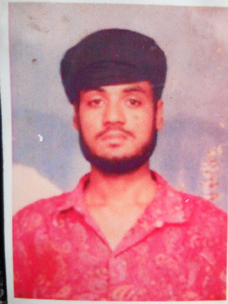 Photo of Desa Singh, victim of extrajudicial execution on July 11, 1993, in Sarhali Kalan, by Punjab Police