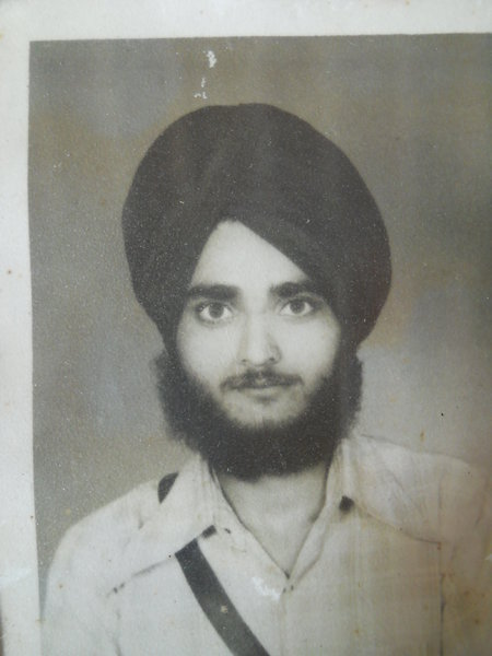 Photo of Tarlochan Singh, victim of extrajudicial execution on December 29, 1988, in Shahkot, by Punjab Police