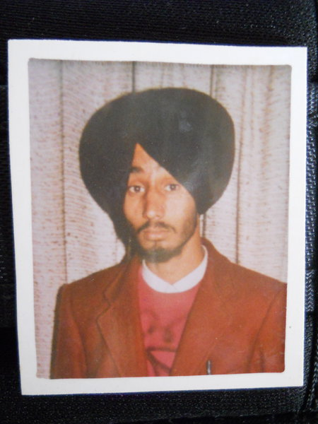 Photo of Sukhwinder Singh, victim of extrajudicial execution on September 04, 1990 by Central Reserve Police Force, in Amritsar Mal Mandi CRPF Camp, by Central Reserve Police Force