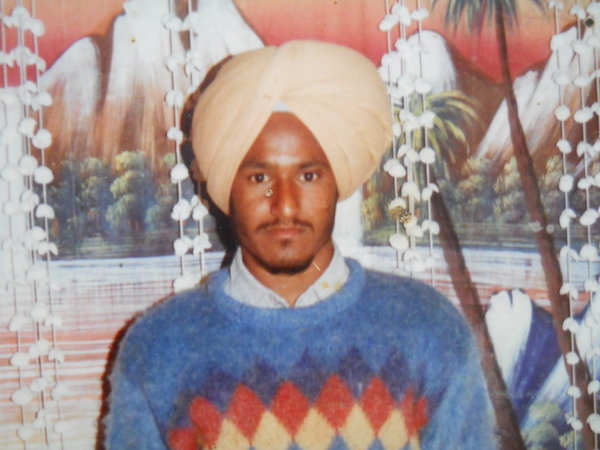 Photo of Balkar Singh,  disappeared on June 08, 1991, in Verowal,  by Punjab Police; Central Reserve Police Force