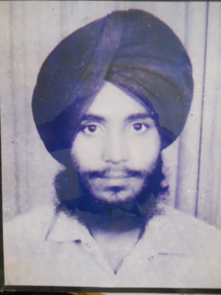 Photo of Avtar Singh, victim of extrajudicial execution on July 09, 1992, in Verka, by Punjab Police