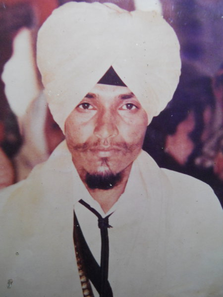Photo of Balwinder Singh, victim of extrajudicial execution on January 06, 1991, in Mehta, by Punjab Police