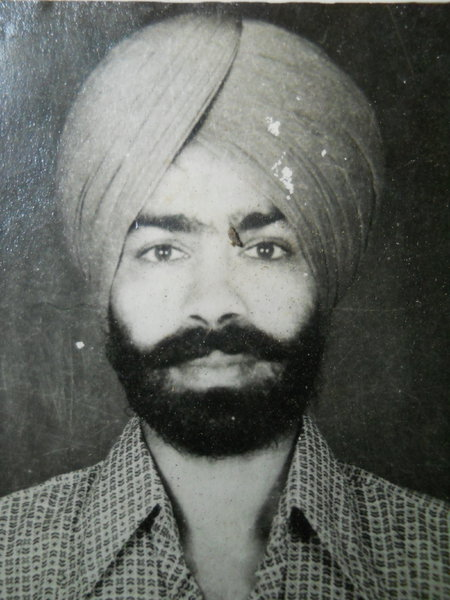 Photo of Ajit Singh, victim of extrajudicial execution between February 9, 1987 and February 10,  1987, in Mehta, by Punjab Police