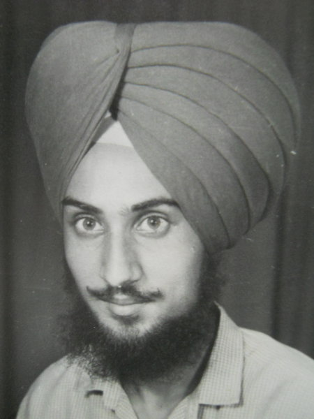 Photo of Harpreet Singh, victim of extrajudicial execution on February 20, 1990, in Jandiala, by Punjab Police; Central Reserve Police Force
