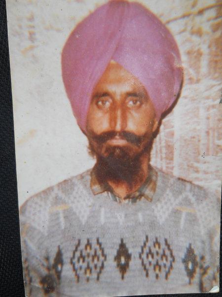 Photo of Kulwant Singh, victim of extrajudicial execution on January 28, 1993Punjab Police