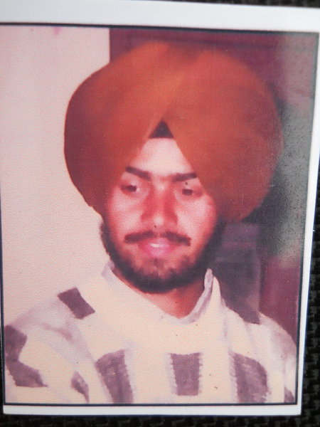 Photo of Nirmal Singh,  disappeared on March 22, 1993 by Punjab Police
