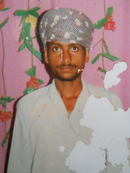 Photo of Sucha Singh, victim of extrajudicial execution between July 4, 1992 and July 5,  1992, in Lopoke, by Punjab Police