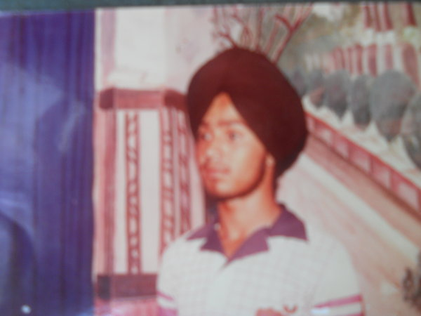 Photo of Satnam Singh, victim of extrajudicial execution between August 1, 1988 and September 30,  1988, in Jandiala, by Punjab Police