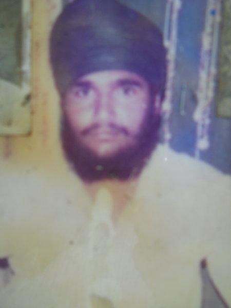 Photo of Balkar Singh, victim of extrajudicial execution between November 8, 1994 and November 9,  1994, in Pilibhit