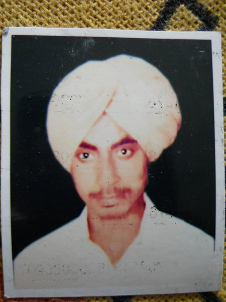 Photo of Veer Singh,  disappeared between July 10, 1987 and July 20,  1987 by Central Reserve Police Force