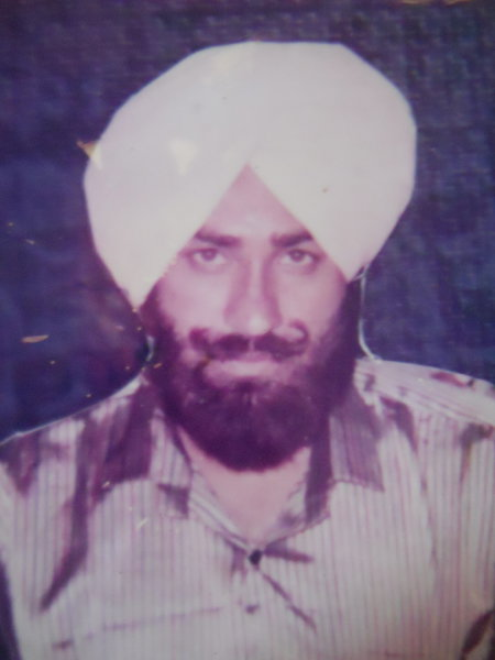 Photo of Varinder Singh, victim of extrajudicial execution on September 05, 1991, in Amritsar, by Punjab Police