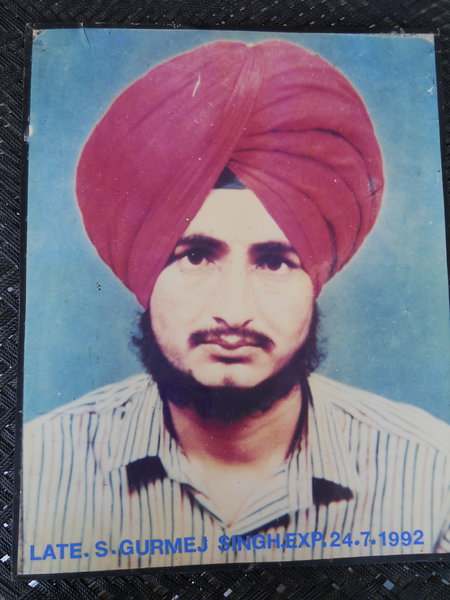 Photo of Gurmej Singh,  disappeared between July 1, 1992 and July 31,  1992 by Punjab Police