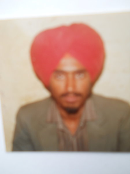 Photo of Kuldeep Singh, victim of extrajudicial execution on December 21, 1990, in Majitha, by Punjab Police