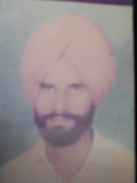 Photo of Paramjit Singh,  disappeared between January 1, 1987 and January 31,  1987, in Jalandhar,  by Punjab Police