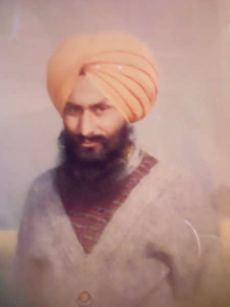 Photo of Parmbir Singh, victim of extrajudicial execution on August 22, 1992, in Jandiala, by Punjab Police