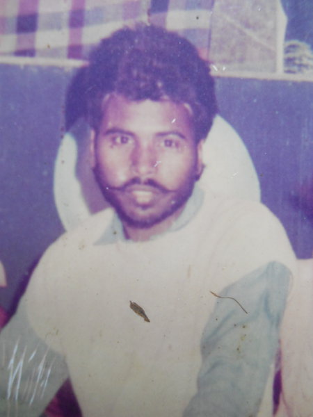 Photo of Partap Singh, victim of extrajudicial execution on May 29, 1992, in Jandiala,  by Punjab Police; Central Reserve Police Force, in Jandiala, by Punjab Police