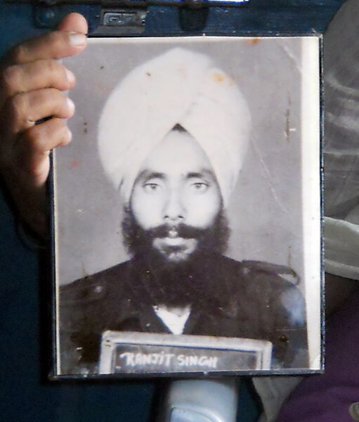 Photo of Ranjit Singh,  disappeared on April 15, 1992, in Gurdaspur, Jandiala,  by Punjab Police