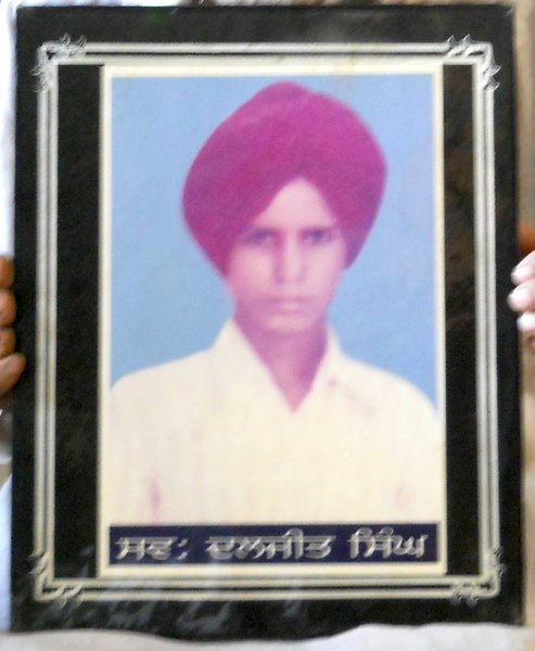 Photo of Daljit Singh,  disappeared on May 11, 1994, in Majitha,  by Punjab Police