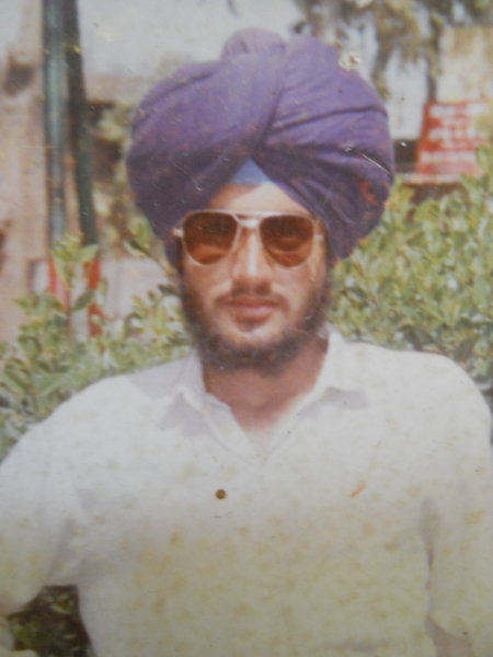 Photo of Malkit Singh, victim of extrajudicial execution on March 22, 1992, in Jandiala, by Punjab Police