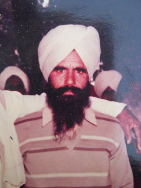 Photo of Maya Singh, victim of extrajudicial execution on September 29, 1988, in Verowal, by Punjab Police; Central Reserve Police Force