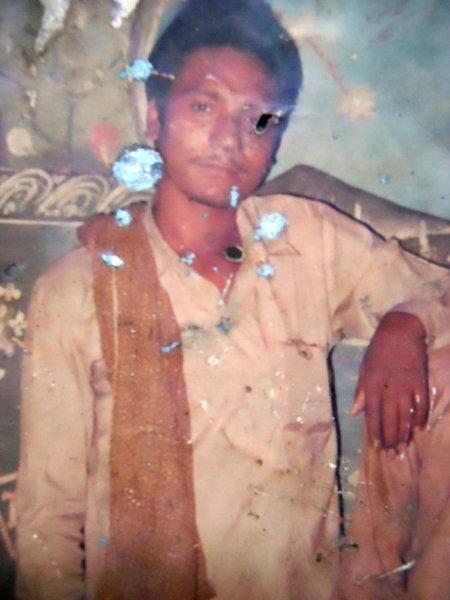 Photo of Harpinder Singh, victim of extrajudicial execution between January 1, 1991 and January 31,  1991, in Tarn Taran, Jhabal Kalan,  by Punjab Police; Central Reserve Police Force; Army, in Jhabal Kalan, by Punjab Police