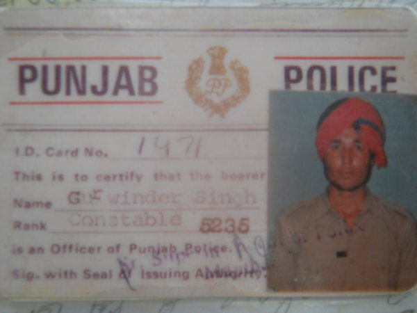 Photo of Gurwinder Singh,  disappeared between September 27, 1992 and September 29,  1992, in Gurdaspur,  by Punjab Police