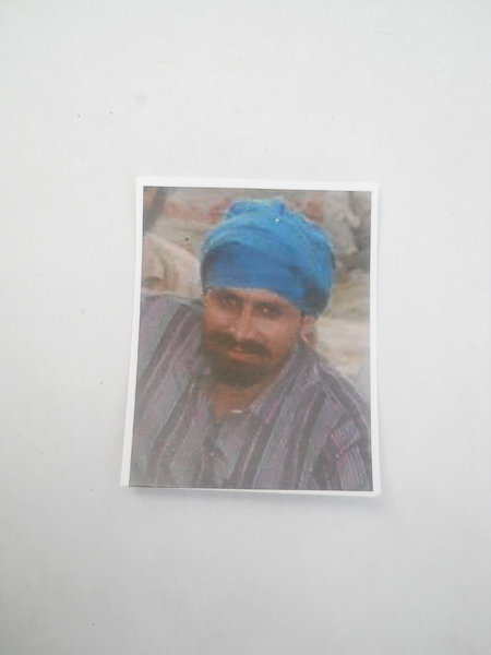 Photo of Jaswant Singh,  disappeared, in Jandiala,  by Punjab Police