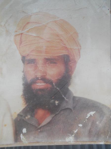 Photo of Sarwan Singh,  disappeared on October 20, 1992, in Tarn Taran,  by Punjab Police