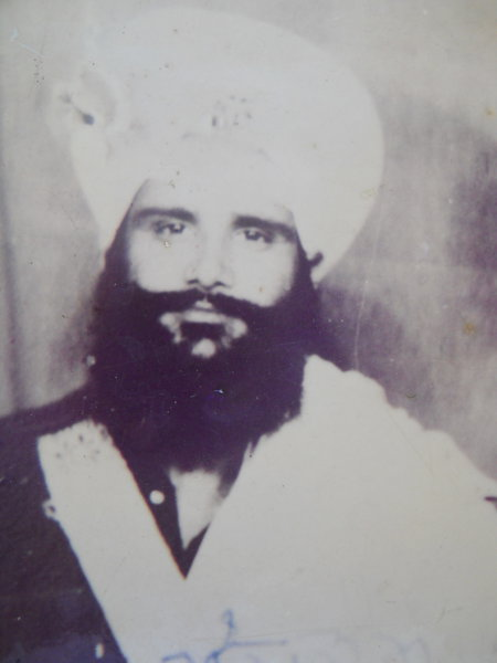 Photo of Mangal Singh, victim of extrajudicial execution between May 1, 1987 and May 20,  1987, in Harike, by Punjab Police