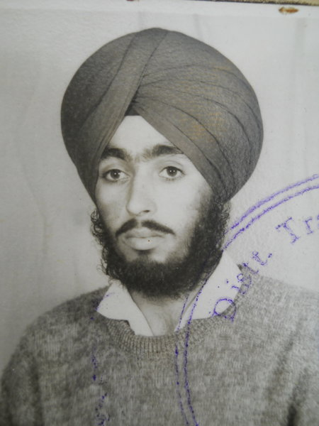 Photo of Kanwaljit Singh, victim of extrajudicial execution between May 11, 1991 and May 17,  1991, in Valtoha,  by Punjab Police; Central Reserve Police Force, in Valtoha, by Punjab Police