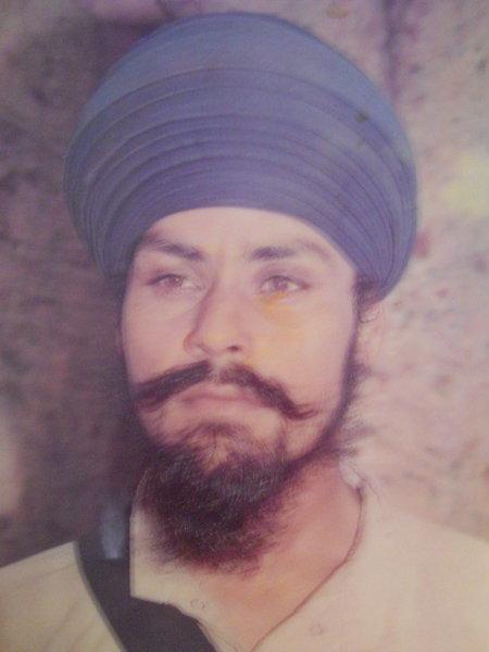 Photo of Balwinder Singh, victim of extrajudicial execution between May 1, 1991 and July 31,  1991