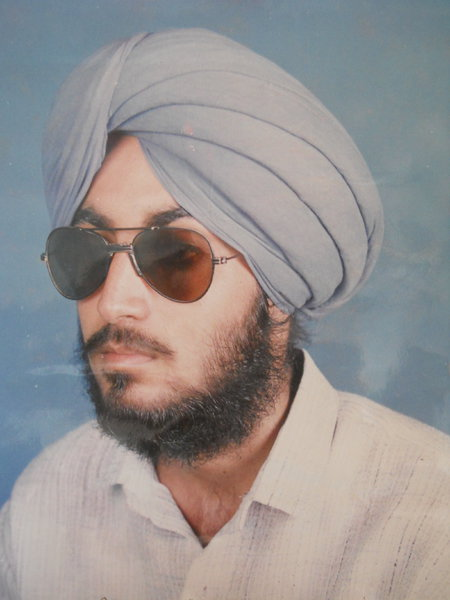 Photo of Kawalnain Singh, victim of extrajudicial execution on March 03, 1991, in Amritsar, by Punjab Police